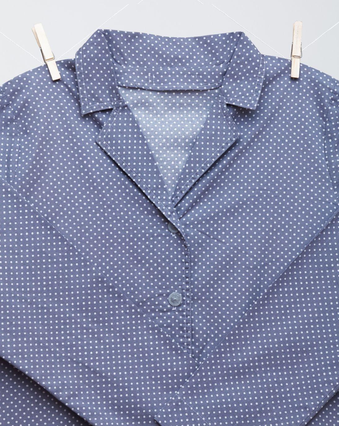 Pyžamo pro mámu - malé puntíky