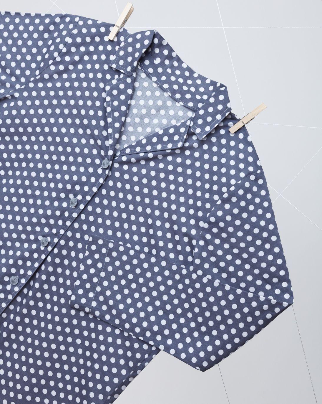 Pyžamo pro mámu - velké puntíky